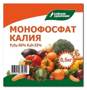 Монофосфат калия - удобрения для огорода и сада