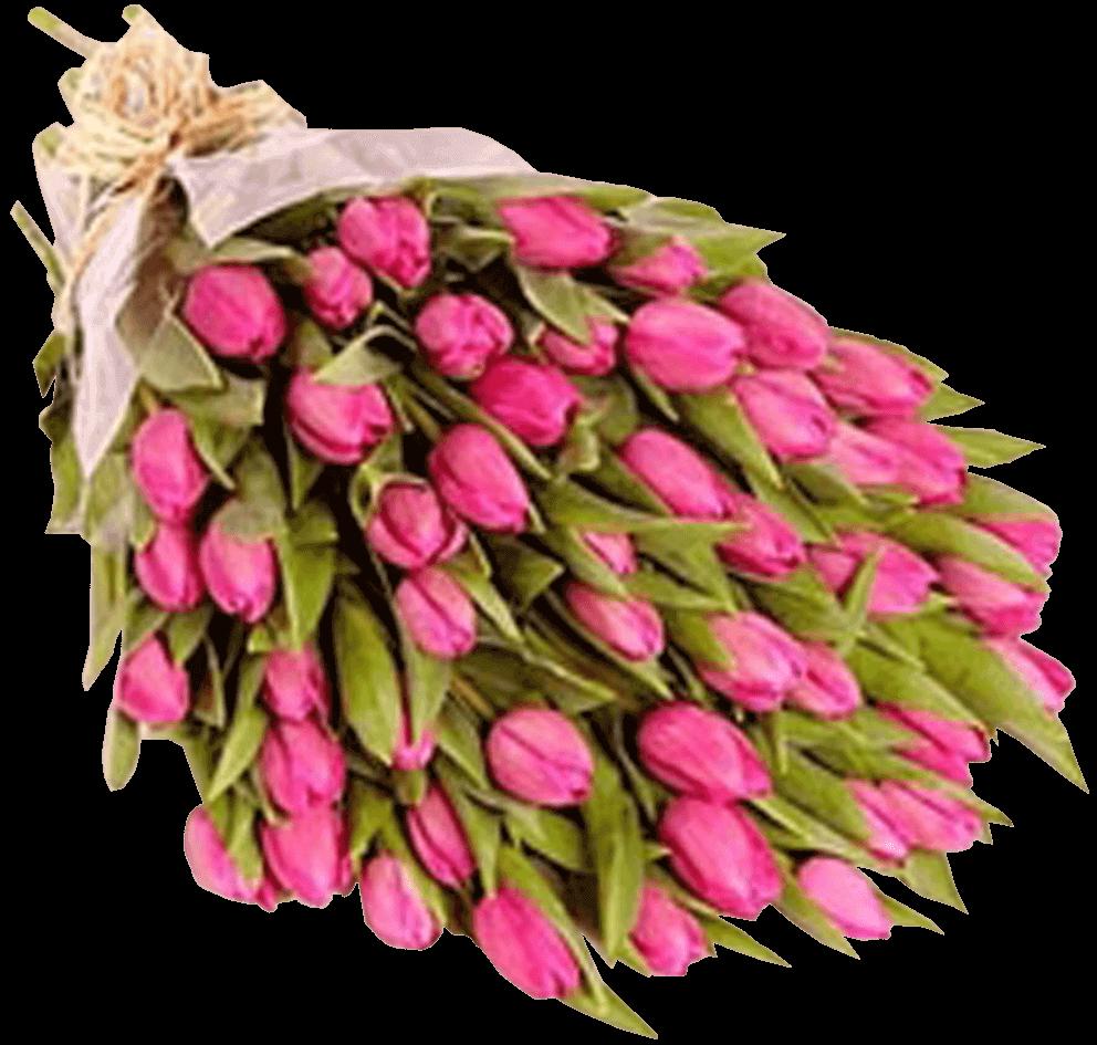 Букет из тюльпанов своими руками фото 824